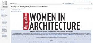 09Wikipedia Edit-a-Thon_Women in Architecture