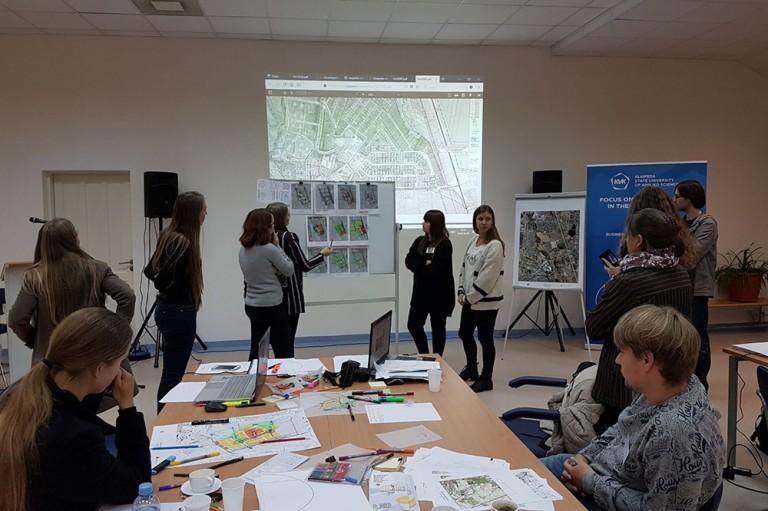 Klaipėdos miesto rytinės dalies vystymo idėjų kūrybinių dirbtuvių rezultatai